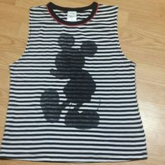 Mikey mouse tank❤ Cute tank for all you Mikey lovers Disney  Tops Tank Tops