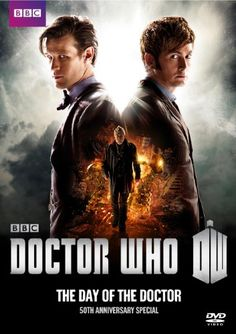 Can you imagine a DVD that had been some Fifty Years in the making? Yes that's what you get with The Day of The Doctor celebrating the 50th Anniversary of Doctor Who. The perfect Whovian gift idea