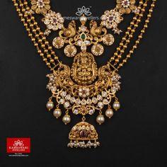 Antique Jewellery Designs, Gold Jewellery Design, Designer Jewellery, Indian Wedding Jewelry, Bridal Jewelry, Gold Temple Jewellery, Gold Jewelry Simple, Silver Jewelry, Necklace Online