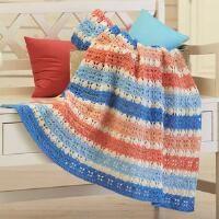 Herrschners® Palm Beach Flair Crochet Afghan Kit
