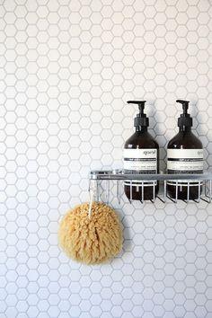 efficace carré blanc carrelage mural salle de bains