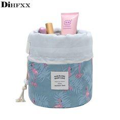 Korean Style Mignon Femmes Voyage Trousse de toilette vintage Big Capacity Make up Bags