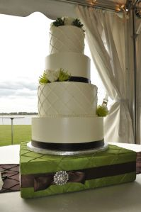 Green Orchid Themed Cakes And Charleston SC On Pinterest