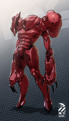 by D-132 or Infected Samus?? This would be awesome!!