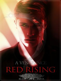 Red Rising by Pierce Brown movie poster-Darrow the Reaper
