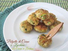 Un modo delizioso per far mangiare le verdure anche ai piccoli di casa: Polpette di carne e Zucchine, semplici e deliziose, cotte al forno o in padella