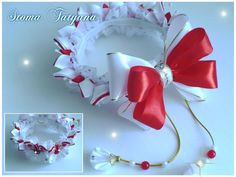 Татьяна Стома (Кутько) - Фото | OK.RU Bun Wrap, Ribbon Flower Tutorial, Ribbon Bows, Flower Crown, Braided Hairstyles, Hair Bows, Braids, Hair Accessories, Crochet