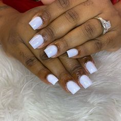 Short Square Acrylic Nails, Best Acrylic Nails, Aycrlic Nails, Swag Nails, Teen Nails, Milky Nails, Cute Acrylic Nail Designs, Fire Nails, Dream Nails