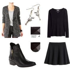"""-"" by satellitesailor on Polyvore"