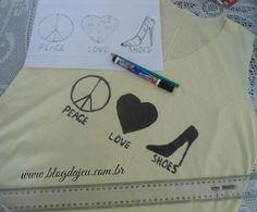 Boa noite amouris!!  Já foram no blog hoje? Corre la pra ver os posts novos.   http://blogdajeu.com.br/customizando-t-shirt-com-acrilpen-acrilex/  #customizacao #tshirt #camiseta #acrilpen #acrilex #estilo