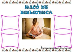 RACÓ DE LA BIBLIOTECA Children's Library, School, Classroom Setup, Infant Activities, Stall Signs, Teachers, Storytelling