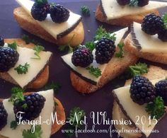 Blackberries and assorted Cheeses #GoodFood www.facebook.com/forgetmenotwhimsies Embedded image permalink