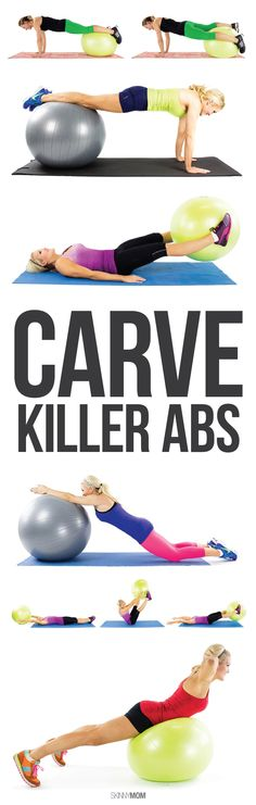 Break out that stability ball and get to work!
