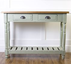 Brocante Serving Table by The Orchard Shabby Chic Furniture, Table Furniture, Living Room Furniture, Modern Shabby Chic, Unusual Furniture, Serving Table, New Home Designs, Furniture Collection, Colorful Interiors