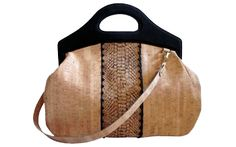 Fifi Carry All - Cork Natural Embossed