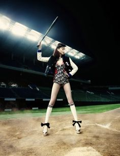 Sweet Slugger - Harper's Bazaar Korea - July 2012