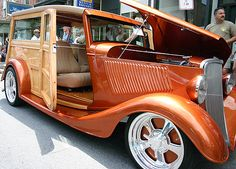 1933 Ford Woodie Let's go surfing  What one best fits you?  House of Insurance  Eugene, Oregon