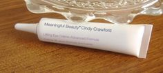Meaningful Beauty Lifting Eye Creme Advanced Formula .05 fl oz NEW Cindy Crawfor #MeaningfulBeauty