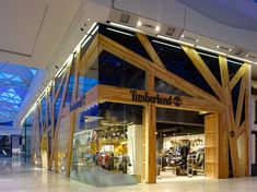 Timberland by Checkland Kindleysides, London store design