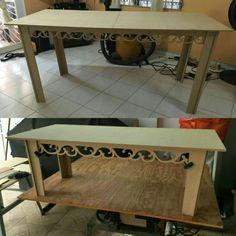 Mesas desarmables Caladas /made by Lignum Artis y MDF