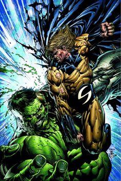 The Sentry vs hulk