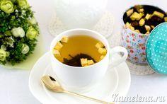 Яблочный чай с клюквой и пряностями
