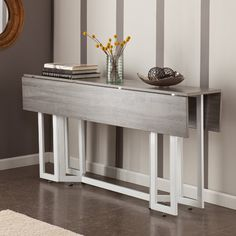 Home Etc Extendable Dining Table & Reviews   Wayfair.co.uk https://www.divesanddollar.com/7-piece-counter-height-dining-room-sets/