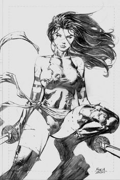 Psylocke by David Finch  Auction your comics on http://www.comicbazaar.co.uk