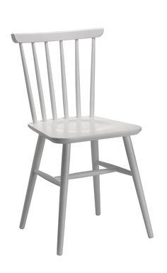 Stuhl CITTI, Buche lackiert weiss