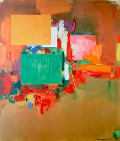 Song of the Nightingale, 1964; Hans Hofmann