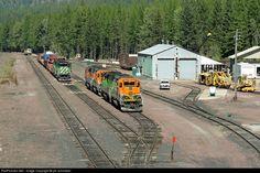 RailPictures.Net Photo: BNSF 6819 BNSF Railway EMD SD40-2 at Essex, Montana by jim schmitzer