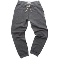 SWEATPANT CHARCOAL ($145) ❤ liked on Polyvore featuring pants, bottoms, charcoal grey pants, charcoal pants and charcoal gray pants