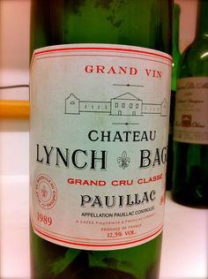 Chateau Lynch Bages 1989