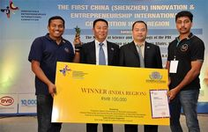 Grand Finale to the India Region Round of the 1st China (Shenzhen) Innovation and Entrepreneurship International Competition #SinoIndiaTradeandCulturePromotionCouncil