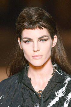 Eyeliner In Full Effect at Miu Miu - Best Spring 2013 Fashion Week Makeup Looks