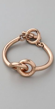 Vita Fede+ Mini Snodo Bracelet in rose gold  $330.00