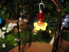 Fairy Garden Hummingbird Feeder by PixiesPatch on Etsy