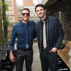 """It has been 13 years since One Tree Hill first changed our lives to the tune of Gavin DeGraw's """"I Don't Wanna Be"""" in 2003, but it seems like just yesterday that we were laughing and crying with all of our favorite Ravens. So when we caught up with actors Bryan Greenberg (Jake Jagielski), James Lafferty (Nathan Scott), and creator Mark Schwahn at Bryan's annual Olevolos Project benefit brunch, presented by Microsoft—which helps put underprivileged children in Tanzania through school—everyone…"""