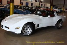 1981 Corvette, white with red interior, first Corvette I ever drove when I was 17. I knew then I'd be a Corvette lover for life.  :)   Ours is almost done.