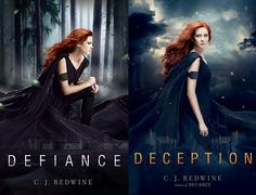 YA Authors as YAs: The CJ Redwine Edition - win a copy of DEFIANCE or DECEPTION! (October 2013)