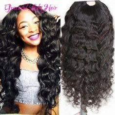 "Find More Blended Hair Wigs Information about Black women fashion style Deep Wave U part wigs 1x4"" U part open Middle part U part wigs with clips Fast shipping,High Quality wig hairstyles,China wig cosplay Suppliers, Cheap wigs for black women from Graceful lady human hair store  on Aliexpress.com"