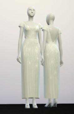 Lily's wedding dress at Rusty Nail via Sims 4 Updates Check more at http://sims4updates.net/clothing/lilys-wedding-dress-at-rusty-nail/