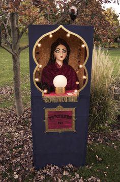 Fortune Teller Booth Halloween Craft