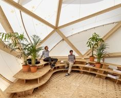 Incredible Buckminster Fuller-Inspired Bioclimatic Dome Shows Off the Power of Digital Prefabrication