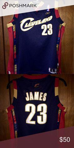 🏀🔥 Cleveland Cavs Lebron James jersey Best offer...first come first served! Reebok Shirts & Tops