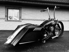 """These bags have of stretch and retain the factory """"Harley"""" lip for a great seal! Also comes with matching Scallop rear fender. Fender is a complete replacement and is super strong! Made by Black Label Baggers Bagger Motorcycle, Motorcycle Camping, Motorcycle Style, Camping Gear, Motorcycle Garage, Harley Bagger, Motorcycle Tips, Camping Hammock, Motorcycle Quotes"""