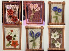 telares decorativos arboles - Buscar con Google Weaving Textiles, Weaving Art, Loom Weaving, Tapestry Weaving, Diy Crafts Love, Foam Crafts, Rya Rug, Embroidery Sampler, Art N Craft
