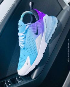 """Image of NIKE AIR MAX 270 x Kylie Boon """"Blueberry"""" - huskrai. Cute Sneakers, Sneakers Nike, Cool Nike Shoes, Fly Shoes, Nike Tennis Shoes, Shoes Men, Adidas Shoes, Women's Shoes, Souliers Nike"""