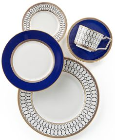 Wedgwood Renaissance Gold Collection - Fine China - Macy's