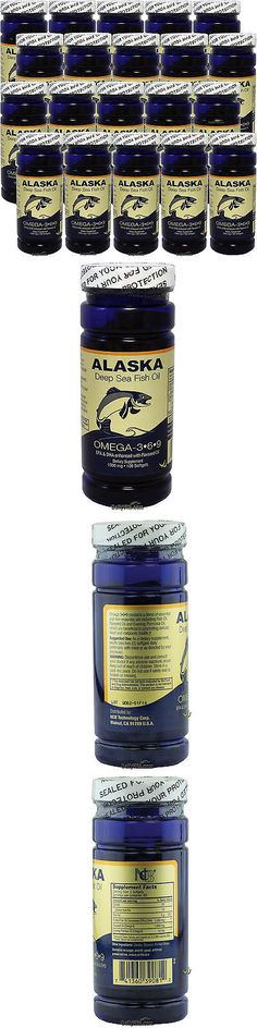 wholesale Other Whlsl Health and Beauty: 20 X 100Sg Alaska Deep Sea Fish Oil Omega-3-6-9 Epa Dha, Fresh, Free Shipping -> BUY IT NOW ONLY: $69.95 on eBay!